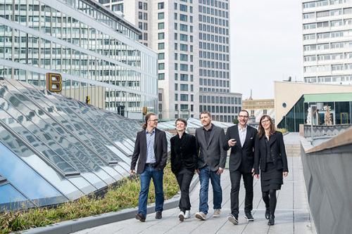 Team des Regionalmanagement CITY WEST