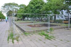 Brunnenanlage und Grünfläche Karl-Marx-Allee 70