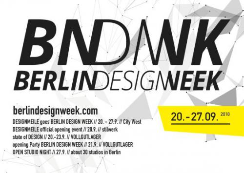 DESIGNMEILE GOES BERLIN DESIGN WEEK