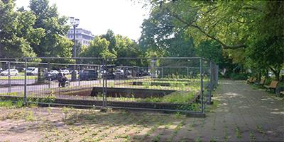 Erneuerung Brunnenanlage Karl-Marx-Allee