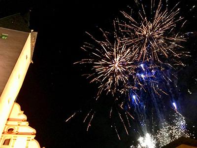 10. Jubiläum der Fürstenwalder Shoppingnacht mit Feuerwerk und Feuershow