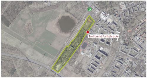 Einladung zum Gebietsspaziergang- Konzept zur Entwicklung des Pankeparks