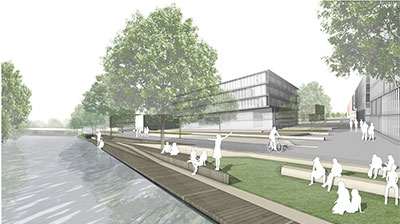 Illustration Hertzalle Nord, Abb: yellow z urbanism architecture AG