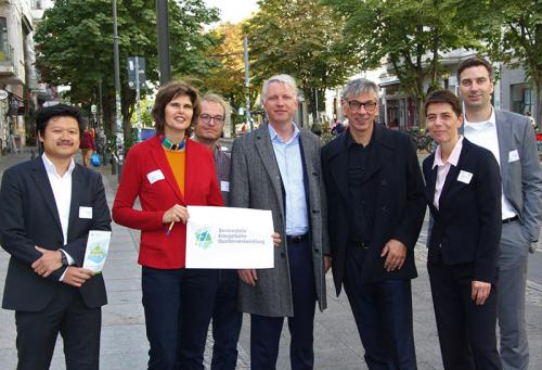Team der Service- und Beratungsstelle für energetische Quartiersentwicklung