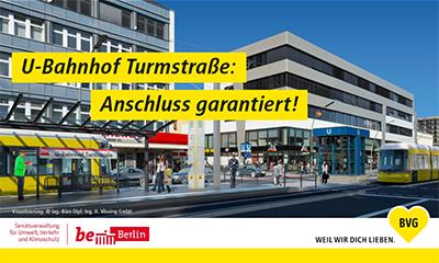 Straßenbahnneubaustrecke Hauptbahnhof - U-Bahnhof Turmstraße - Infoveranstaltung