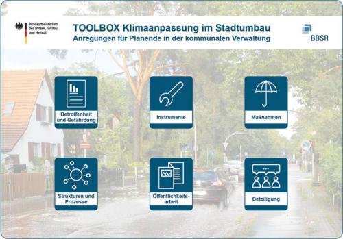 """Toolbox """"Klimaanpassung im Stadtumbau"""""""