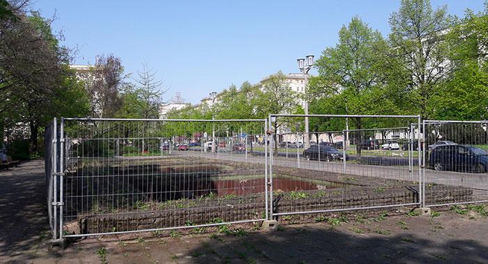 Brunnen in der Karl-Marx-Allee