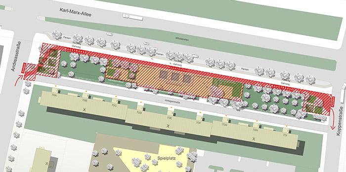 Baubereich, Darstellung cpm gesellschaft von architekten mbh