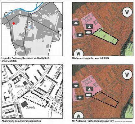 10. Änderung des Flächennutzungsplanes der Stadt Teltow mit Umweltbericht