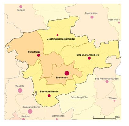 Konzept zur Entwicklung des Mittelbereichs Eberswalde