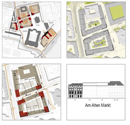 Blockkonzepte Potsdamer Mitte