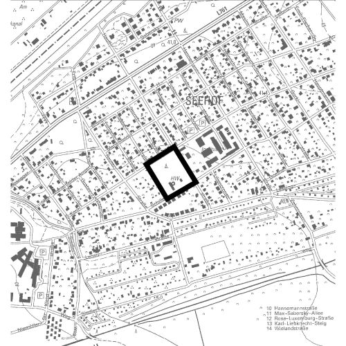 """Bebauungsplan Nr. 69 """"Erweiterung des Forschungszentrums in der Schillerstraße"""" in der Stadt Teltow"""