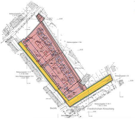 """Bebauungsplan I-14a """"Stallschreiberblock"""" im Bezirk Mitte von Berlin"""