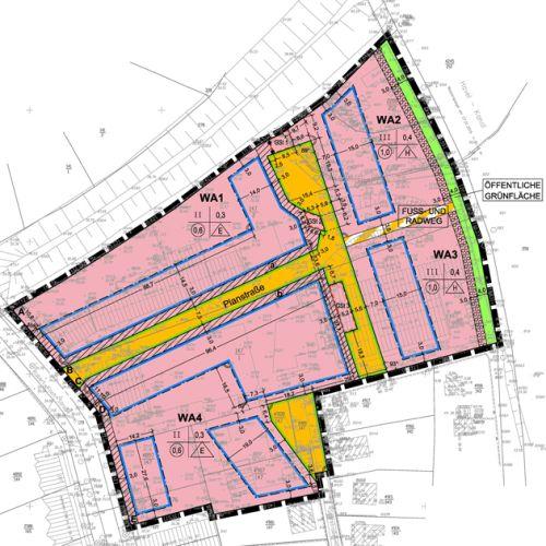 """Bebauungsplan Nr. 108 """"Wohnbebauung Robert-Koch-Straße (ehem. Interfalz-Gelände)"""" der Stadt Oranienburg"""