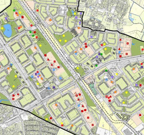 Rahmenplan für die Großsiedlung Neu-Hohenschönhausen