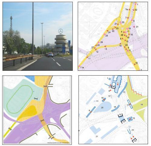 Erstellung eines Gutachtens zur visuellen Integrität der Baudenkmale im Bereich des Autobahndreiecks Funkturm