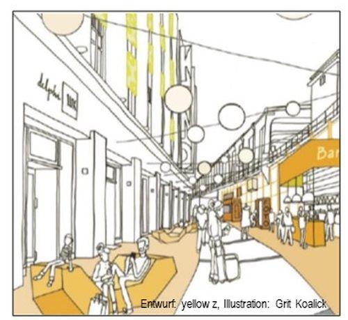 Steinplatz Quartier/Yva-Bogen, Erarbeitung eines GRW-Antrags für  tourismusrelevante Infrastruktur
