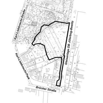 """Bebauungsplan """"Freibad Wasserturmpark"""" in der Stadt Beelitz"""