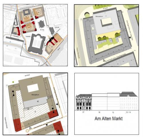 Blockkonzepte Potsdamer Mitte  - Konkretisierung des Integrierten Leitbautenkonzepts / Block IV