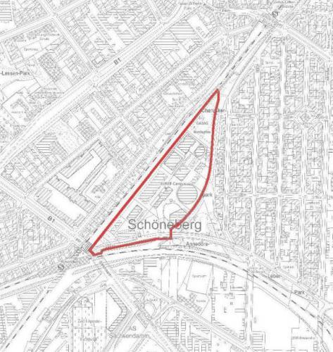 Bebauungsplan 7-29 im Bezirk Tempelhof-Schöneberg von Berlin