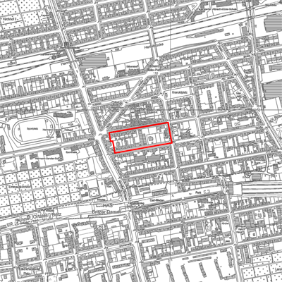 "Bebauungsplan XIV-218a ""Delbrückstraße/Glasower Straße"" in Berlin-Neukölln"