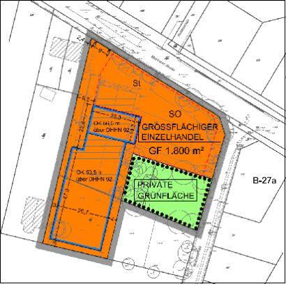 """1. Änderung des Bebauungsplanes Nr. 27a """"Komponistenviertel"""" der Stadt Teltow"""