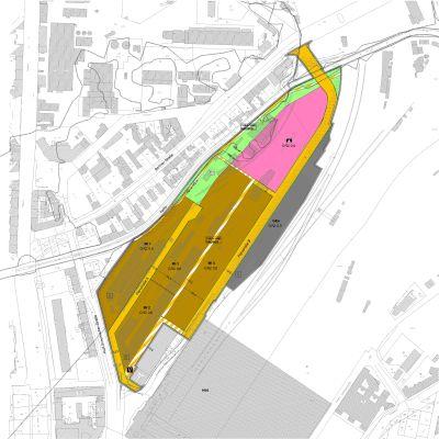 """Bebauungsplan Nr. 323.2  """"Westlich des Hauptbahnhofes, Teilbereich südlich der Parthe"""" in Leipzig"""